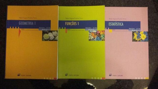 Livros Matemática 10° Ano - Novos