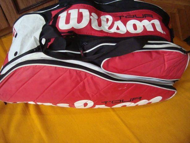 torba na rakiety tenisowe Wilson Tour roz 80x32x 32 cm-Super 6 szt