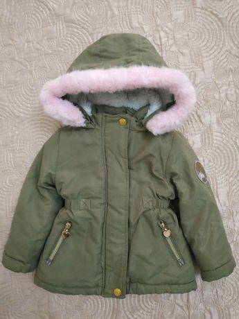 Стильная курточка парка для девочки