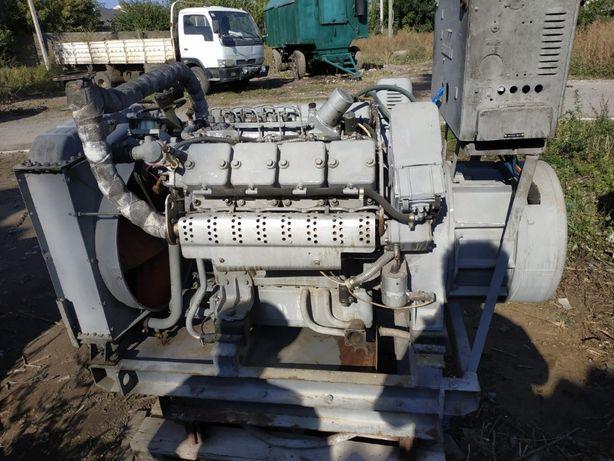 Генератор дизельный, дизель генератор 30 кВт Двигатель Неман