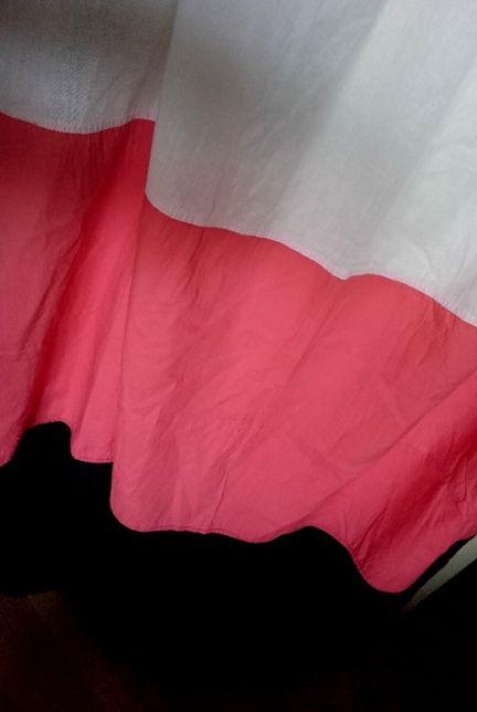 занавеска гардина штора модерн яркая хлопок красно - бело - черная