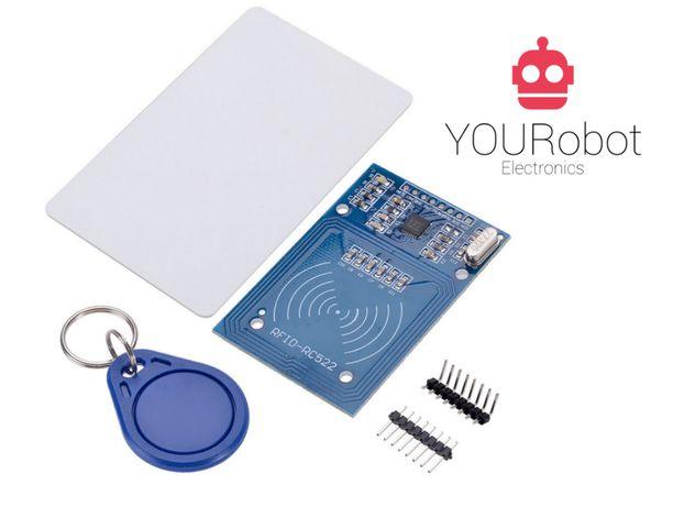 Kit RFID para Arduino NOVO (com cartão e tag)