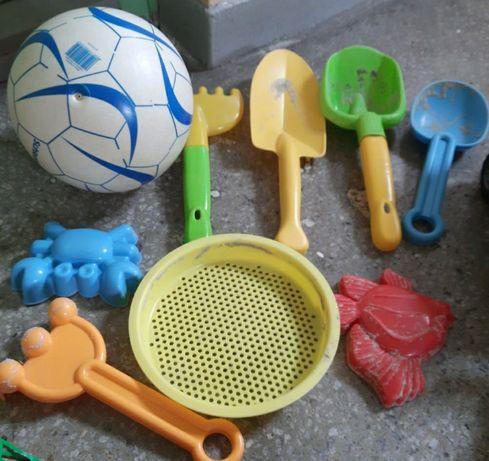 Foremki zabawki do piasku