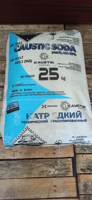 Каустик, гидроксид натрия, едкий натр, NaOH, гранула, Россия