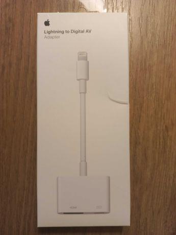 PRZEJŚCIÓWKA Adapter AV Lightning HDMI iPhone iPad. Oryginalne Apple.