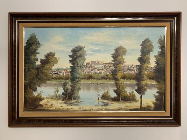 Pintura Original a óleo de Coimbra J. Sobral