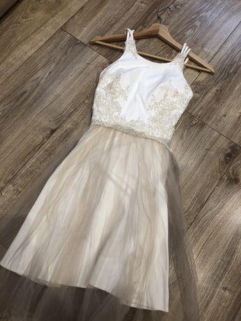 Sukienka weselna, ślubna 36