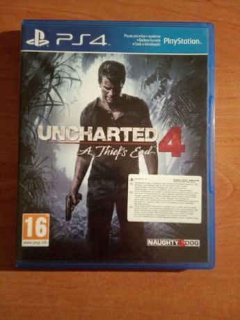 Uncharted 4 - PS4 - JAK NOWA