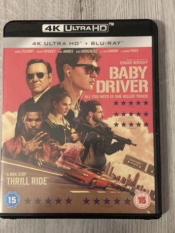 Baby driver 4k