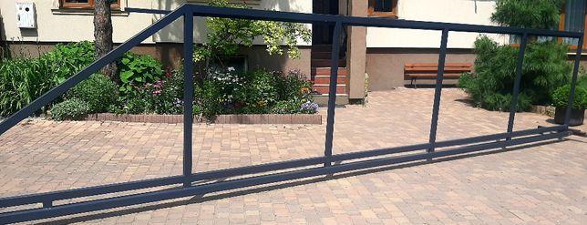 Brama przesuwna 4m-6m pod deski sztachety Ocynk Dostępne od RĘKI