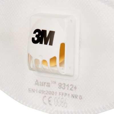 3M™ Aura™ 9312+ Półmaska filtrująca z zaworem, FFP1 Marki - image 1