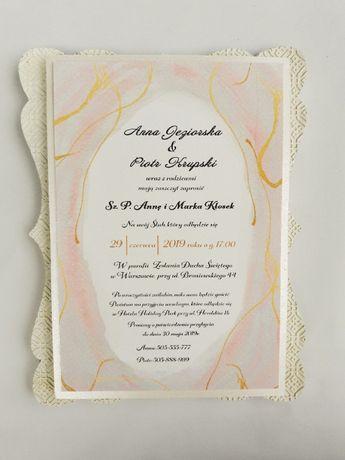 Zaproszenie ślubne 3D