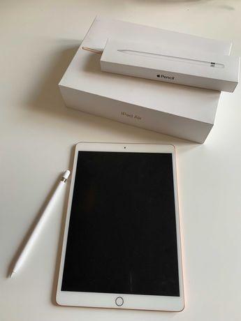 "iPad Air 3. gen. 64 GB WiFi 10.5"" Złoty + Rysik 1 gen."