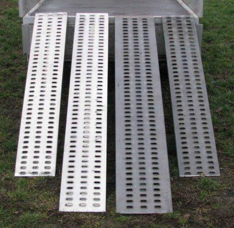 Najazdy STALOWE 3000x330x65 PRODUCENT Podjazd Trap Rampa Najazd