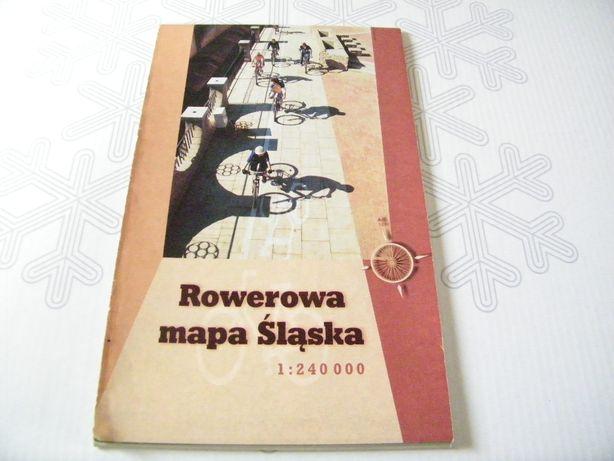 mapa - Rowerowa mapa Śląska