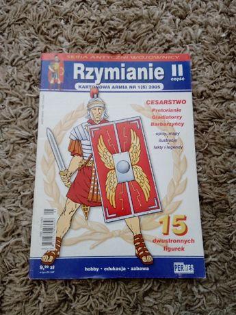 Rzymianie, część II - kartonowa armia