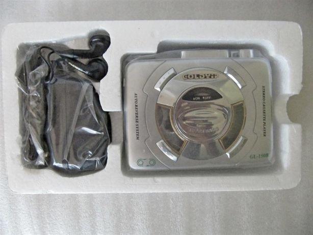Кассетный плеер Goldyip GL-150B, автореверс, супербас, новый