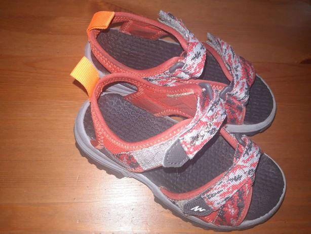 Sandały sandałki Quechua Decathlon 28-29 Toruń Ciechocinek Zakrzewo