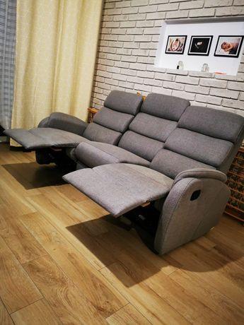 Sofa kanapa * relaks * Agata Meble * szary melanż