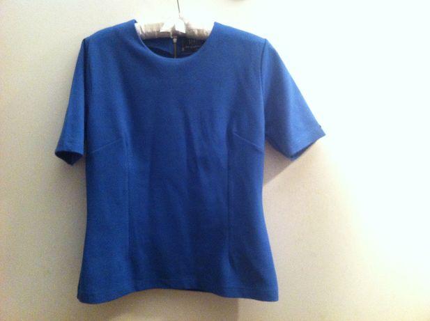 Simple kobaltowa bluzeczka logo super
