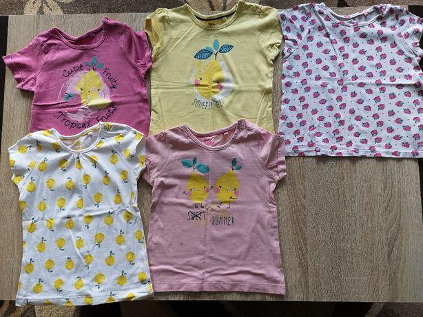 Koszulka t-shirt bluzka krótki rękaw Lupilu 86/92