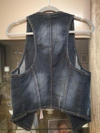 Kamizelka 40 jeansowa