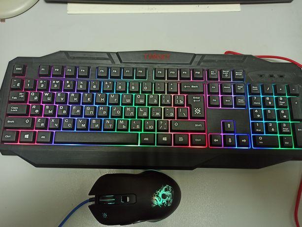 Клавиатура и мышь Defender Target MKP-350 (52350)