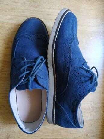 Туфли броги на девочку Next для школы