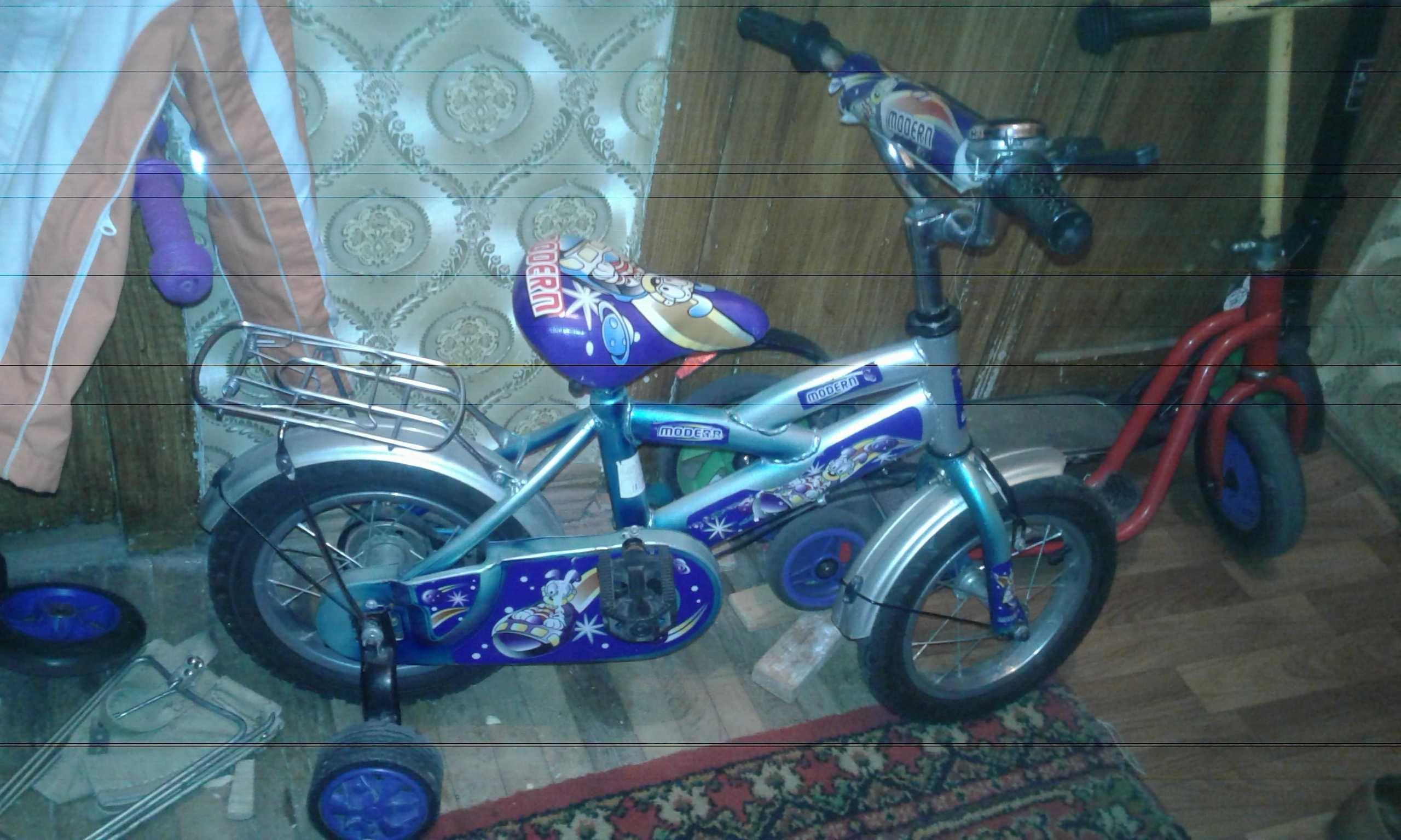 Детский велосипед от 3-х до 5 лет modern