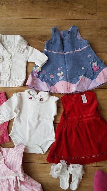Mega paczka ubrań,  wyprawka dla noworodka