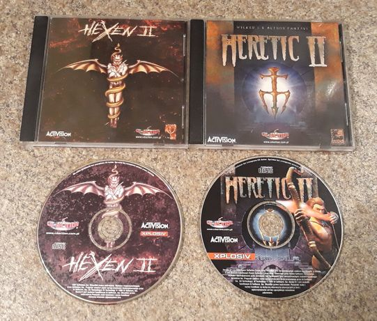 Heretic II + Hexen II - gry PC