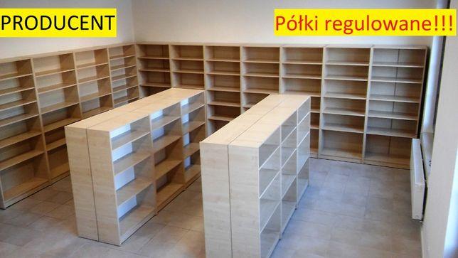 regały sklepowe nowe ładne regał sklepowy półki regulowane! biurowe