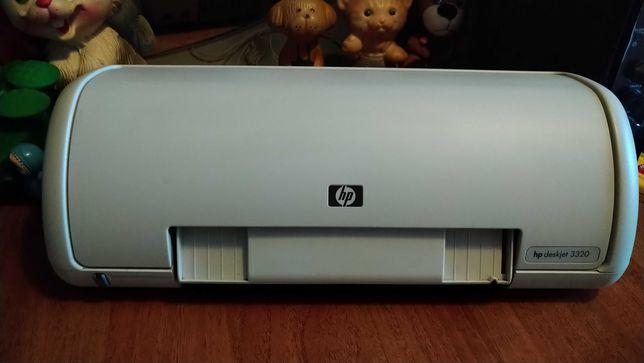 Продам принтер струйный HP Deskjet 3320