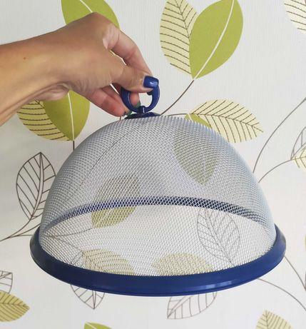 Новая Крышка сетка от мух, насекомых, пыли на блюдо, тарелку, стол