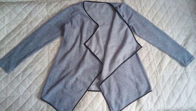 """Sweter polarowy """"marmurka"""" rozmiar L"""