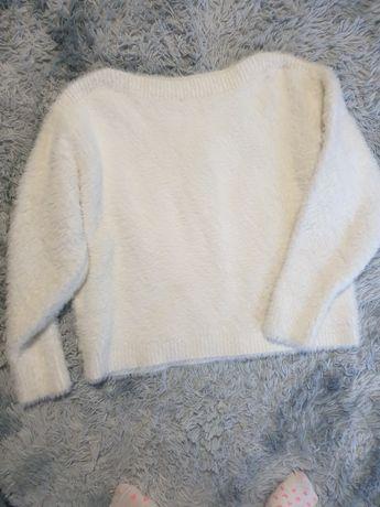 Ecru sweterek z h&m rozmiar M