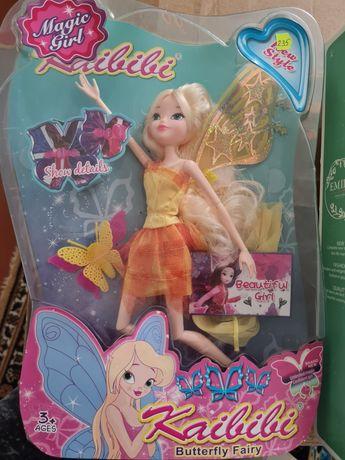 Кукла новая с крильями