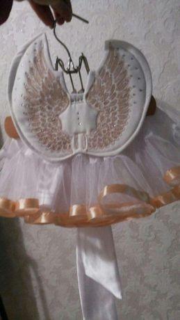 Продам новогодний костюм ангелочка
