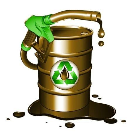 Продам отработанное масло - отработка 6грн/л