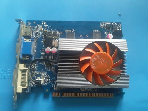 Видеокарта nVIDIA GeForce GT 440 1gb gddr5 inno 3d DVI HDMI VGA