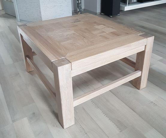 Oryginalny stół/stolik kawowy dębowy (lite drewno)