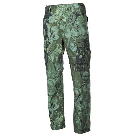 Calças US Combat Rip-Stop Reforçadas Hunter-Green