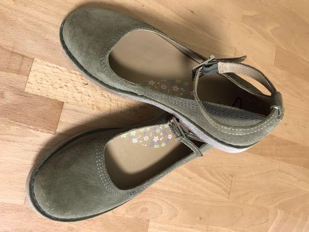 Балетки туфли кожаные clarks 37 p