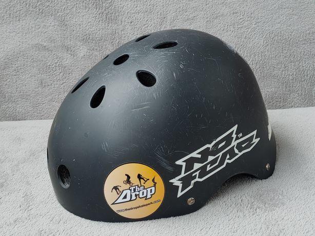 Profesjonalny kask No Fear na rolki deske rower 55-57cm