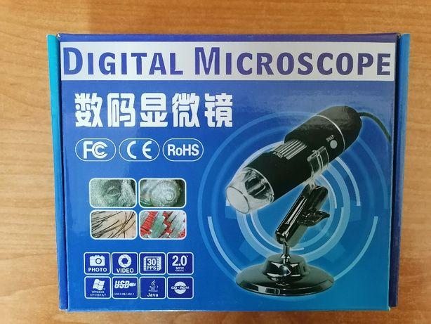 Mikroskop CYFROWY USB LED ZOOM przybliżenie 800X