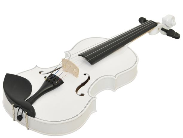 Prima Soloist WH skrzypce 4/4 białe + futerał