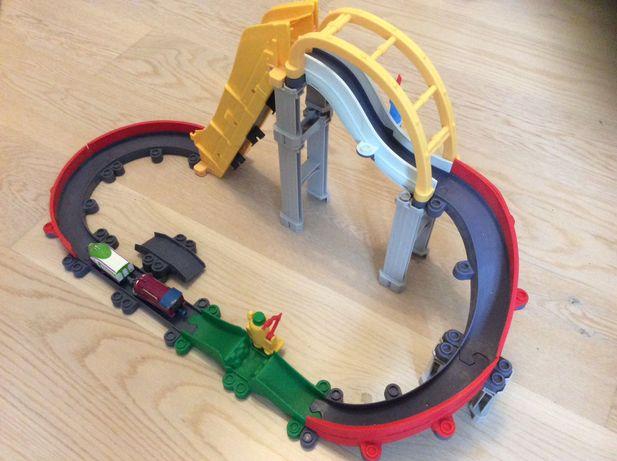 Железная дорога и паровозик чаггинтон Chaggington