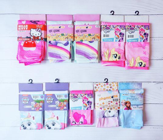 Лосини для дівчаток Disney, 92, 98, 104,110, 116, 122, 134.
