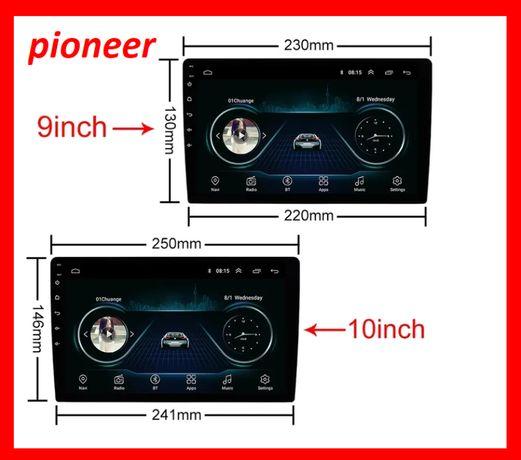 Магнитола Pioneer 10 дюймов и 9 дюймов. 1 или 2din Android 9.1 Новинк