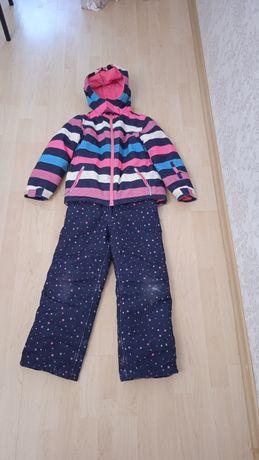 Термо костюм для дівчинки зимовий